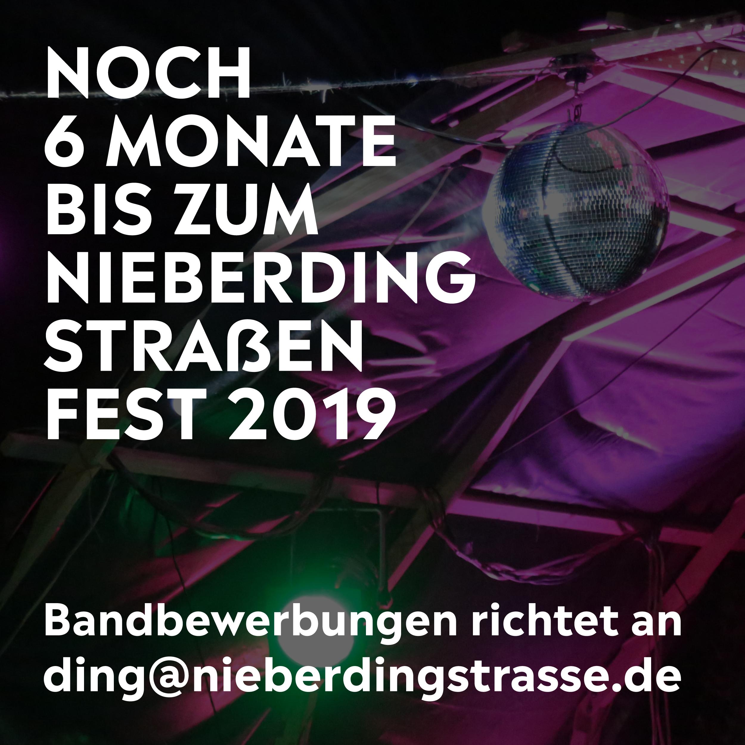 Nieberdingstraßenfest 2019